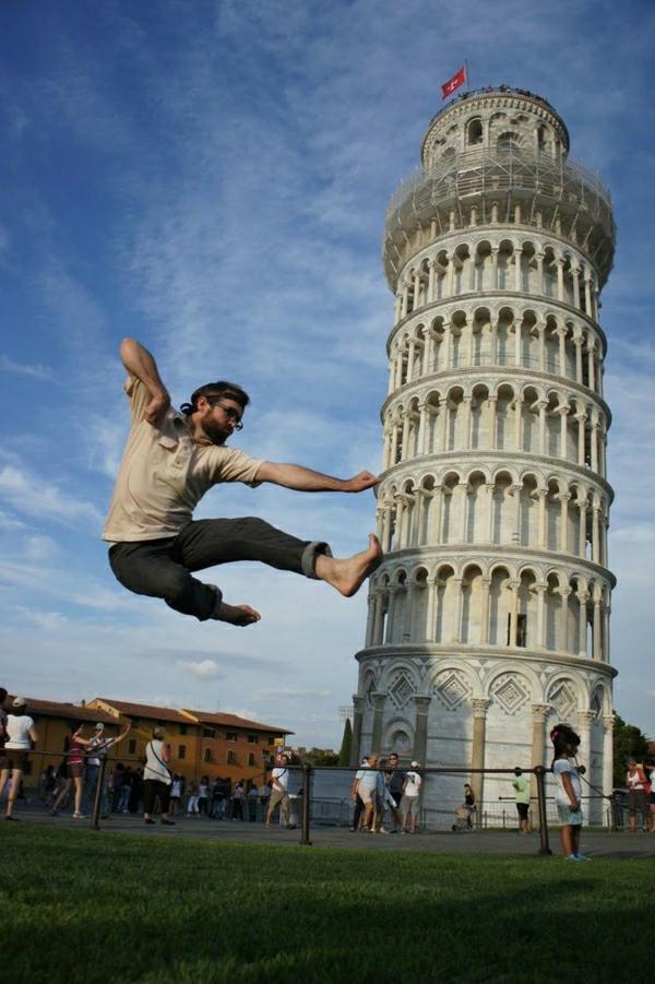Turm-von-Pisa-Karate