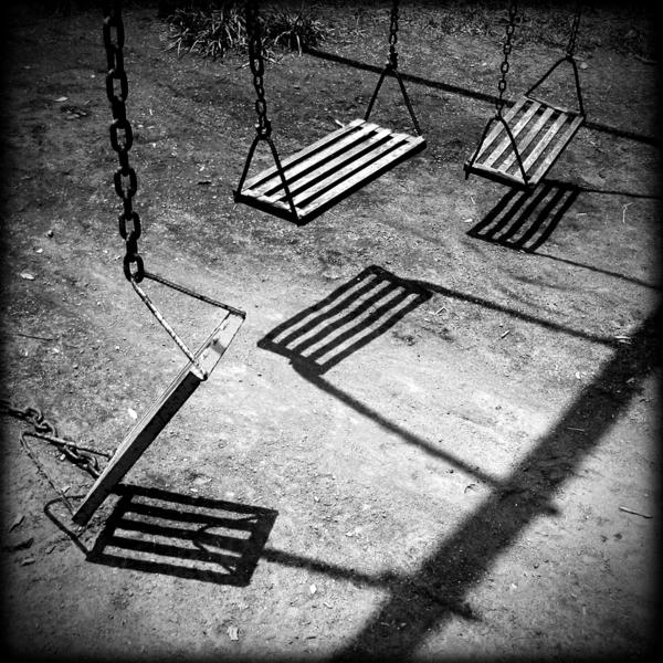 Schaukel-Schatten-Boden