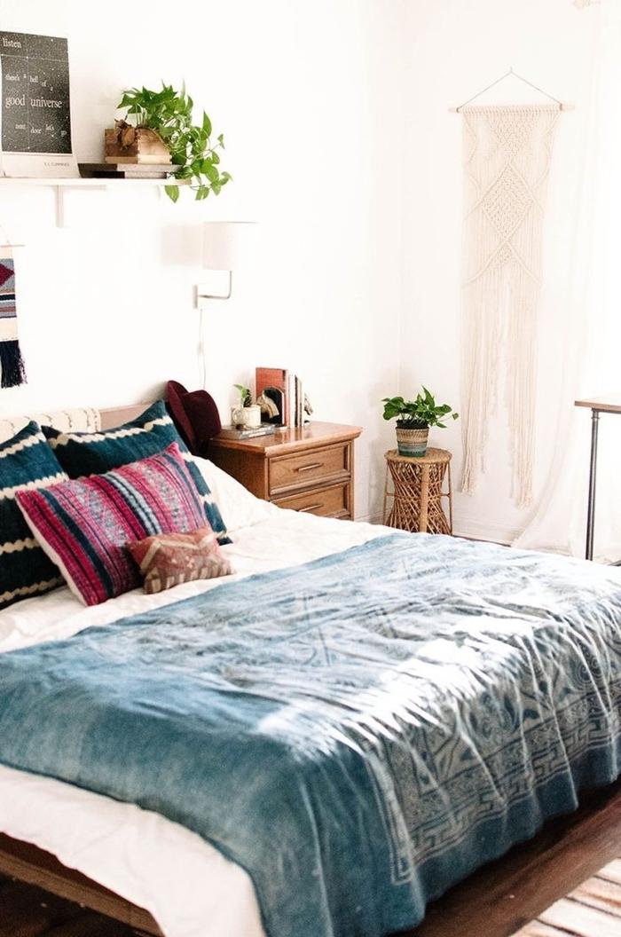 Schlafzimmer-Design-Boho-Stil