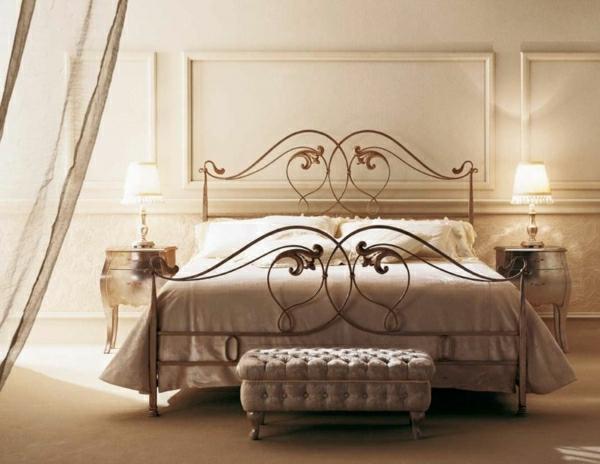 Schlafzimmer-Leuchten-modern-Metalloberfläche