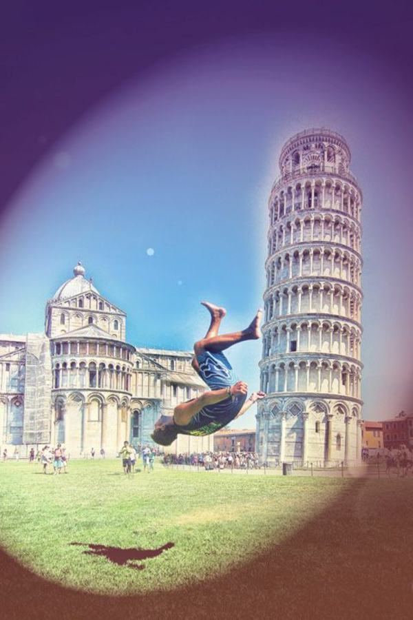 Turm-von-Pisa-Salto-Junge