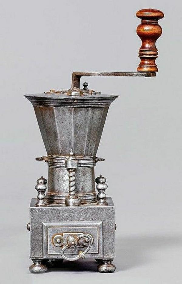 Vintage-Kaffee Mühle
