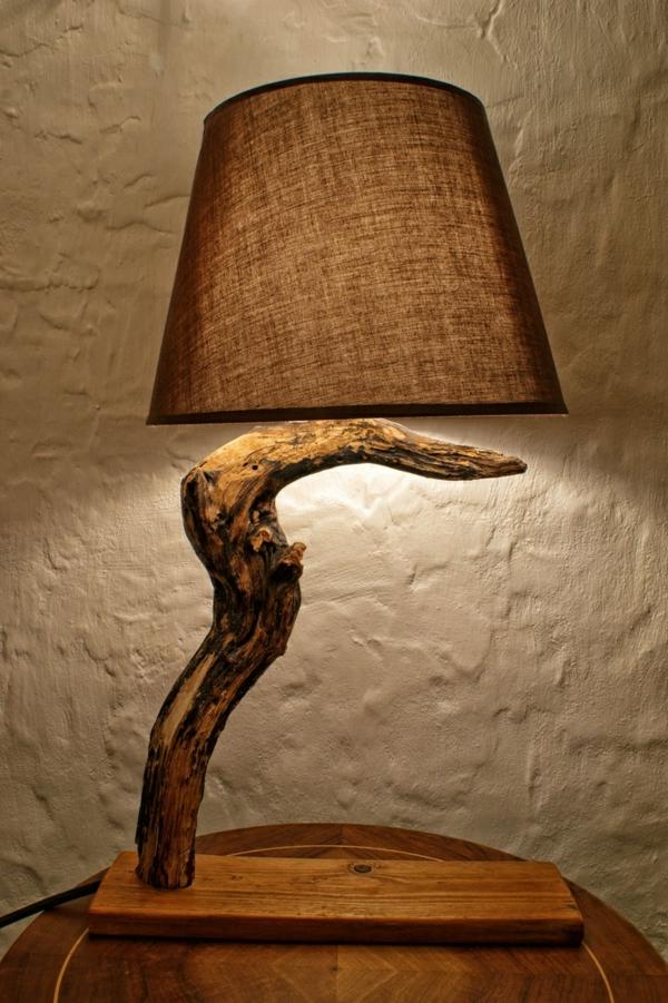 ausgefallene-lampen-baum-struktur