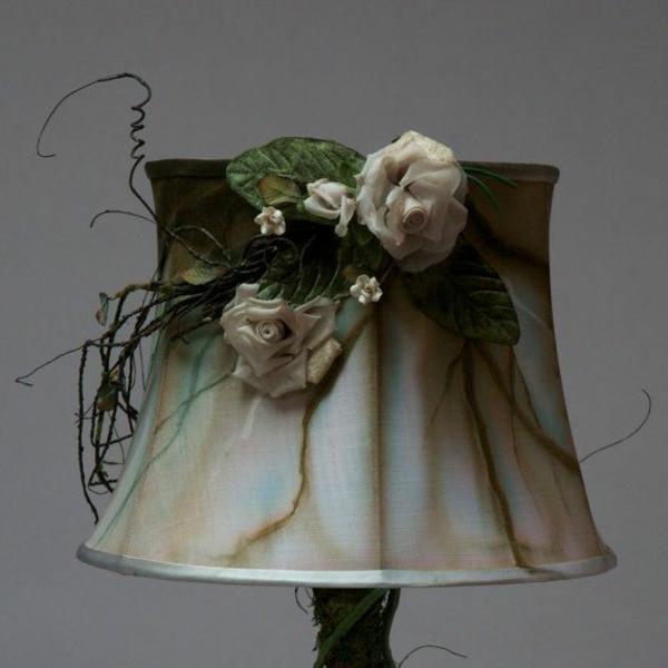 ausgefallene-lampen-dekorative-rosen - super schönes design