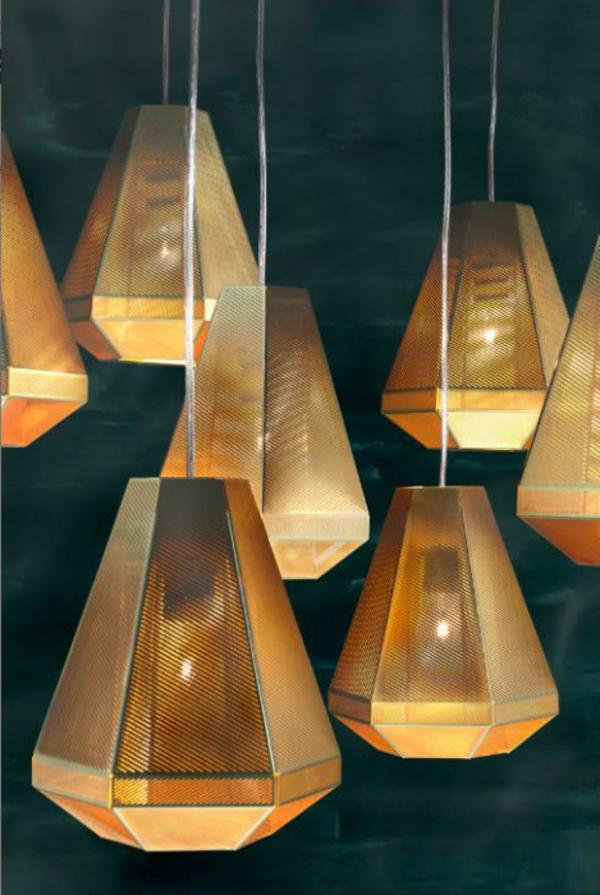 ausgefallene-lampen-goldene-nuancen - tolles aussehen