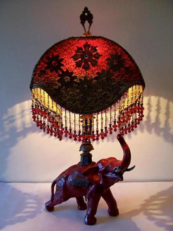 ausgefallene-lampen-rotes-design-sehr-schön - tolles aussehen