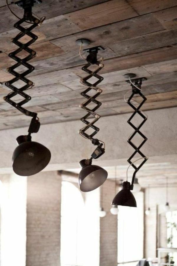 ausgefallene-lampen-super-kreative-modelle - bäuerlicher stil