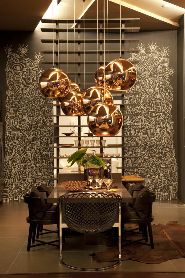 52 ausgefallene lampen zum inspirieren. Black Bedroom Furniture Sets. Home Design Ideas