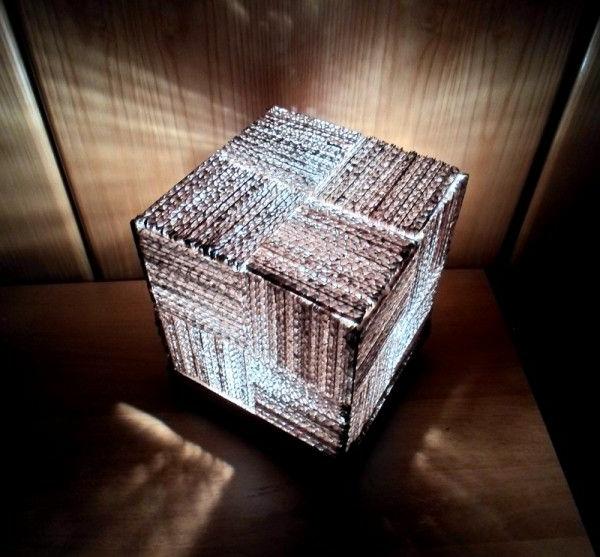 ausgefallene-lampen-würfel-luxuriös - einmalig erscheinen
