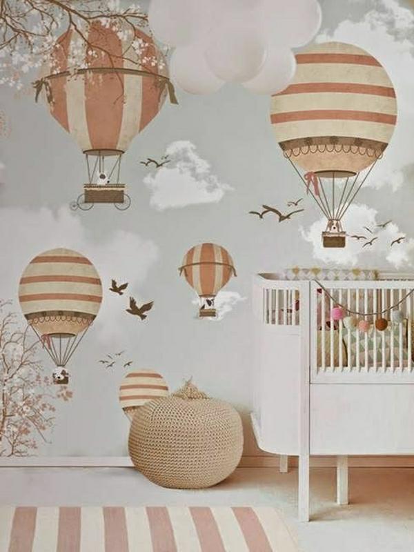 Babyzimmer ideen wandgestaltung  Chestha.com | Babyzimmer Idee Pastell