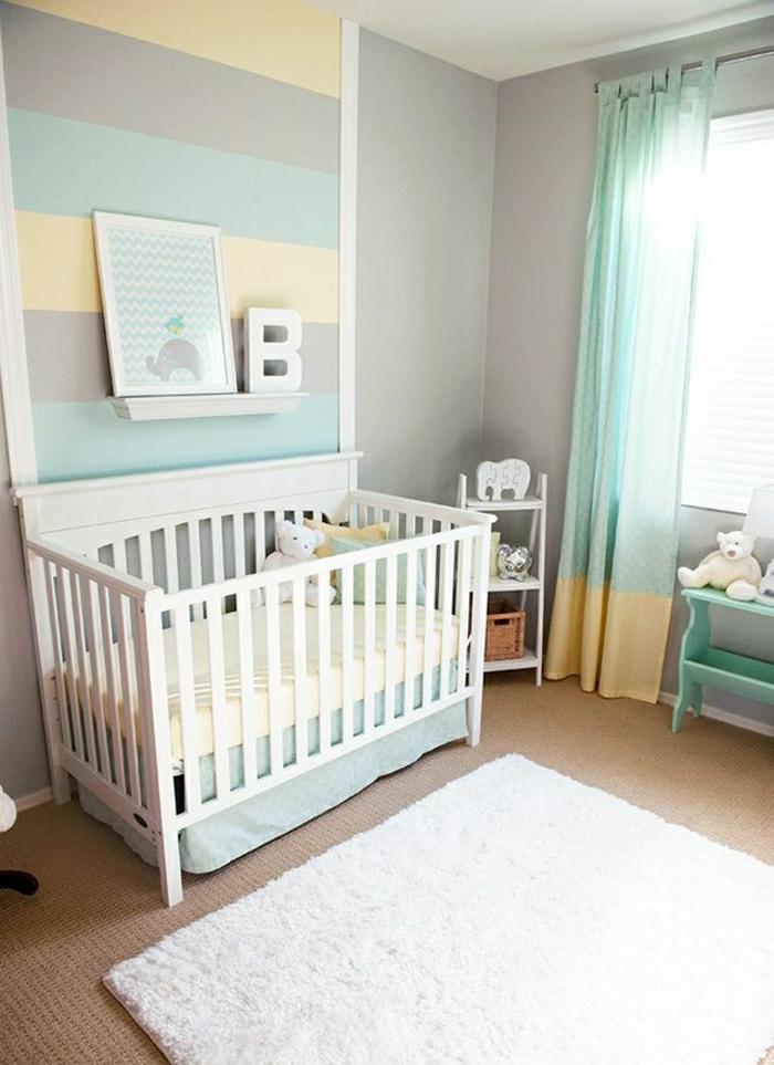 babyzimmer-wandgestaltung-kinderzimmer-ideen-wandgestaltung-ideen-für-wandgestaltung