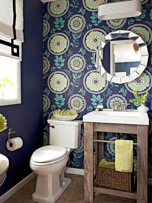 tapete badezimmer barock. Black Bedroom Furniture Sets. Home Design Ideas
