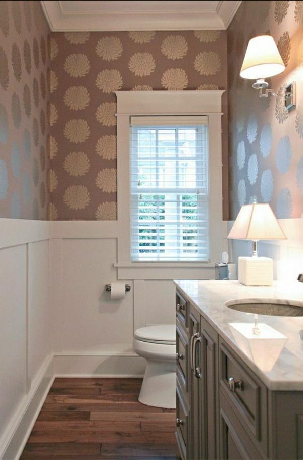 Badezimmer Einrichten Badezimmer Wandgestaltung Schöne Tapeten Badezimmer  Tapete