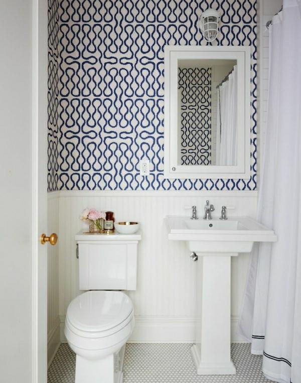 badezimmer-einrichten-badezimmer-wandgestaltung-schöne-tapeten-badezimmer