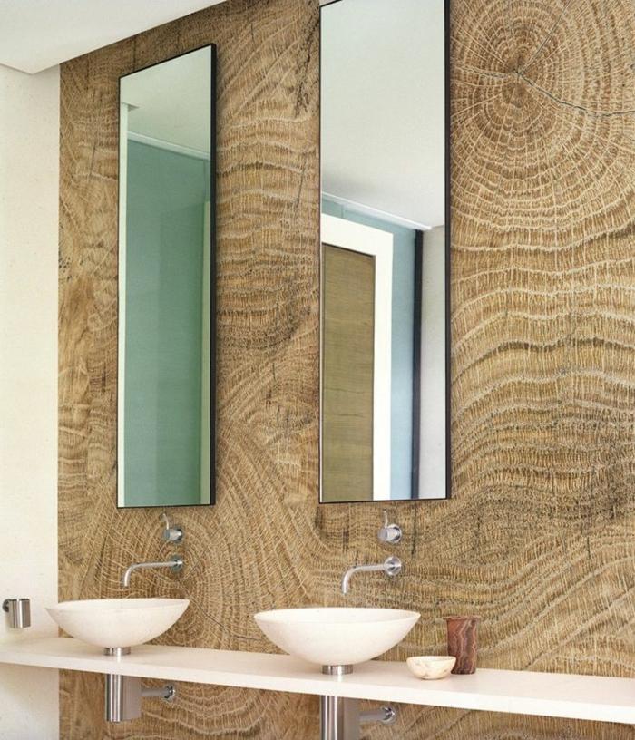 badezimmer-tapeten-ideen-schöne-tapeten-holzoptik-wandgestaltung-wand-holzoptik