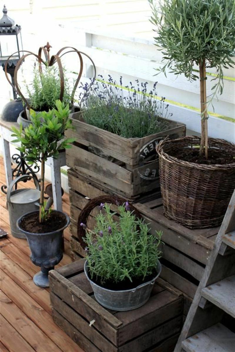 balkon-bepflanzen-kästen-mit-grünen-pflanzen