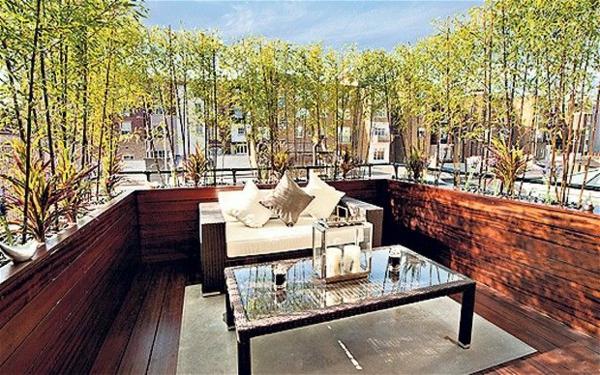Bambus balkon vs bambus terrasse: super gestaltungen!   archzine.net