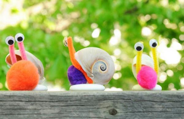 54 kluge Ideen fu00fcr Basteln mit Kindern im Sommer!