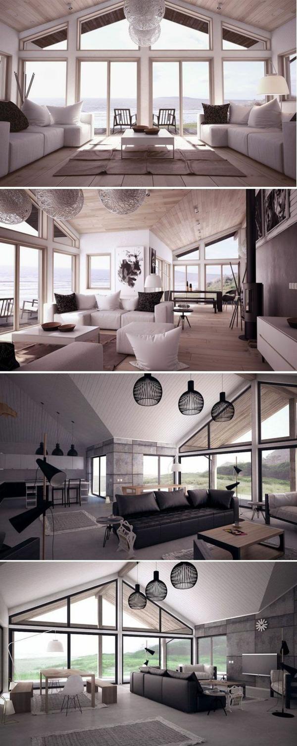 bodentiefe-fenster-drei-tolle-fotos-untereinander- - weißes interieur