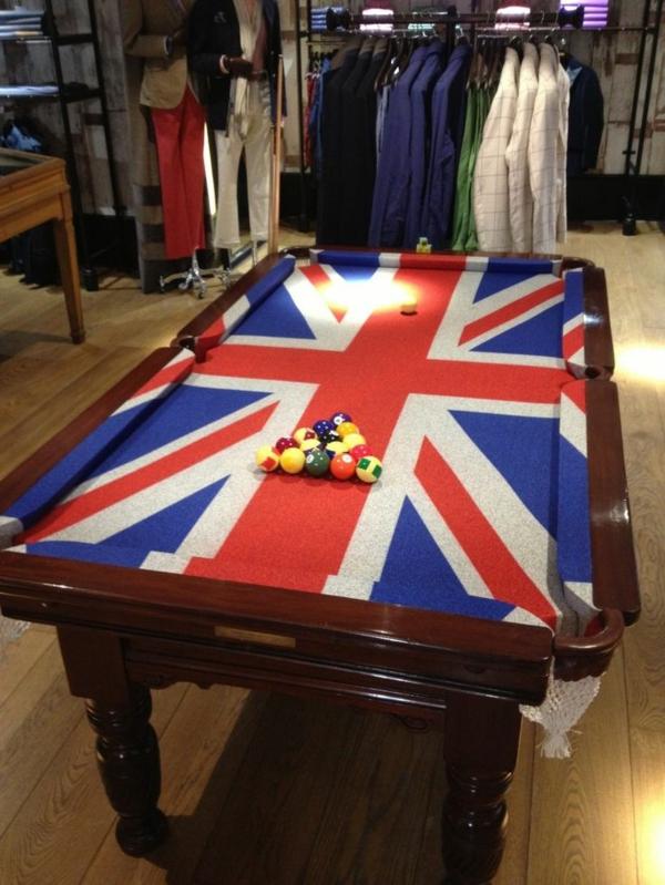 britische-Flagge-Spieltisch-Kleider-Ständer-Tisch