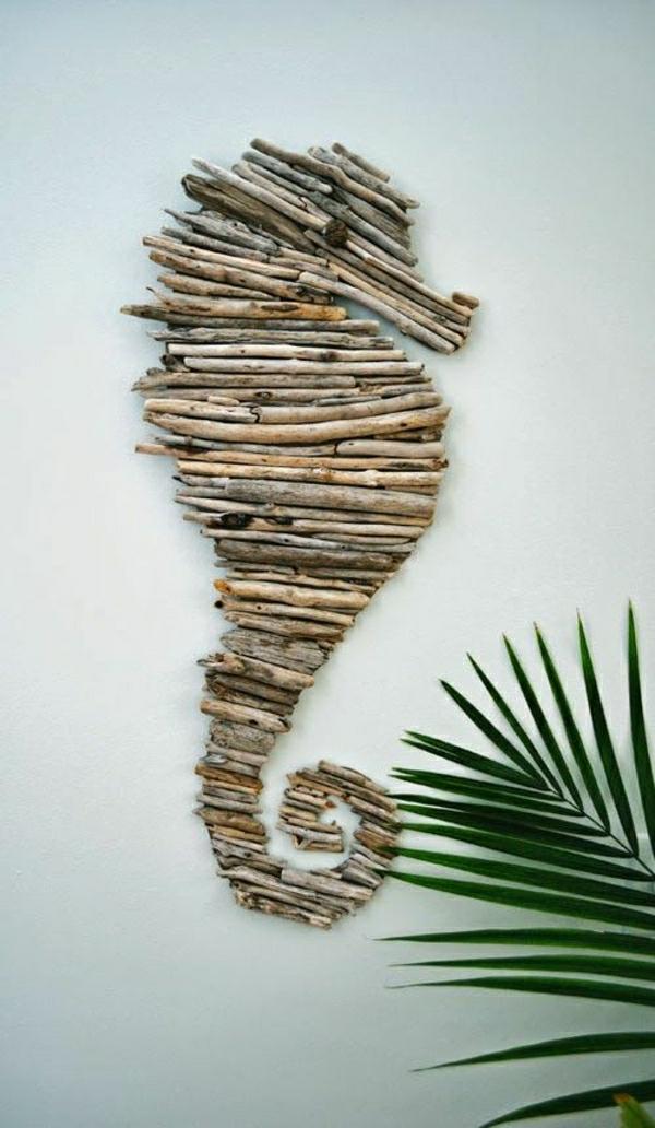 deko-mit-einem-seepferd-ideen-für-dekoration-holzdeko