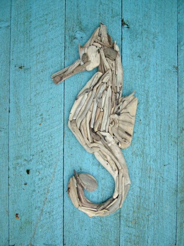 deko-mit-einem-seepferd-ideen-für-dekoration-türdeko
