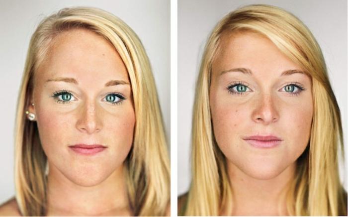 eineiige-zwillinge-blonde-schöne-frisuren