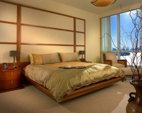Wandgestaltung Schlafzimmer Modern : ... -schlafzimmer-deko-ideen ...