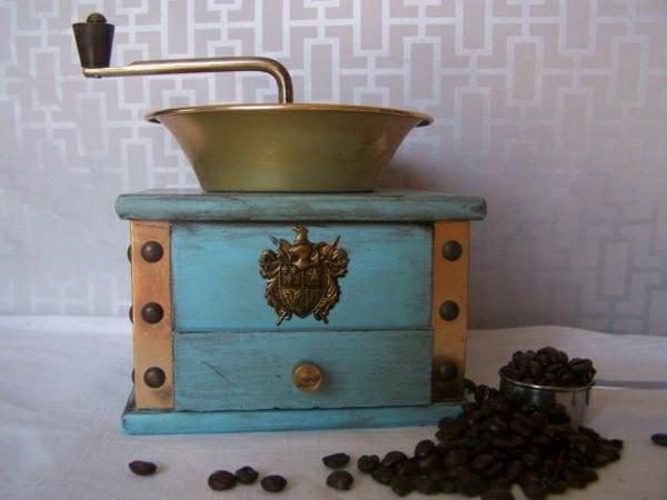 einzigartige-Vintage-Kaffee-Mühle