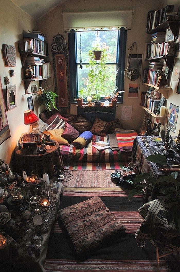 erstaunliches-Schlafzimmer-Kissen-Boho