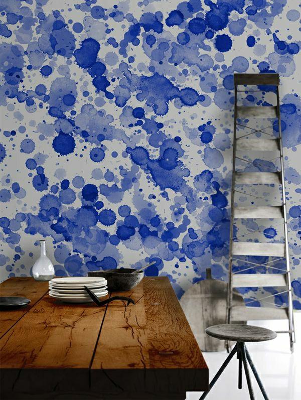 --esszimmer-einrichten-esszimmer-wandgestaltung-schöne-tapeten- Tapeten - Ideen