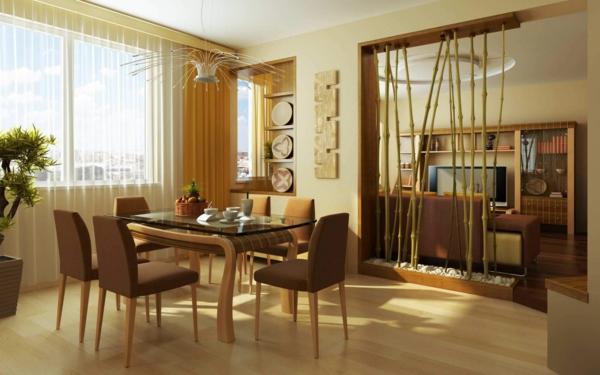 extravagante-wohnideen-für-esszimmer-beige-farben