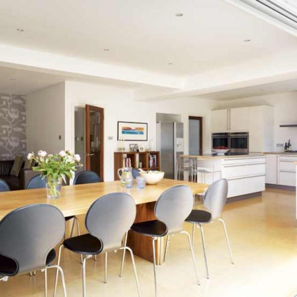 extravagante-wohnideen-für-esszimmer-minimalistischer-look