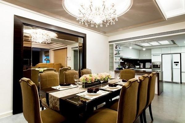extravagante-wohnideen-für-esszimmer-schöne-große-lampen