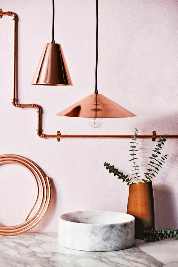 rosa wandfarbe 25 super sch ne beispiele. Black Bedroom Furniture Sets. Home Design Ideas