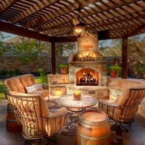 84 verblüffende Fotos von Feuerstelle für Terrasse!
