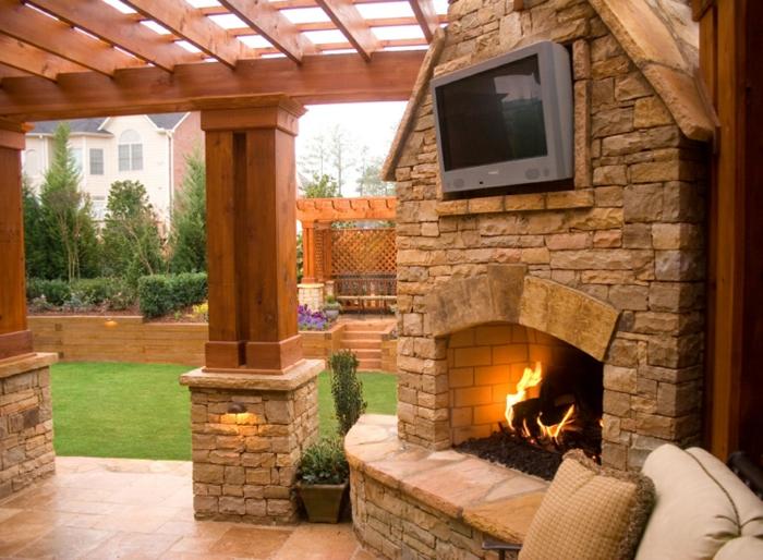 chestha | stein design terrasse, Hause deko