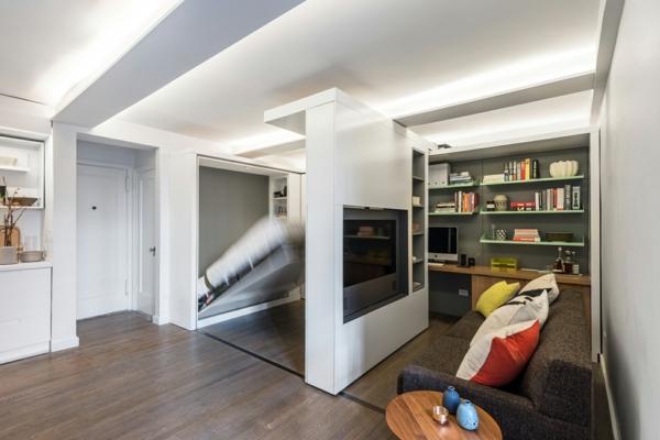 -gästezimmer-einrichten-klappbette-raumsparende-einrichtungsideen