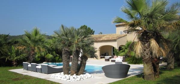 96 verbl ffende fotos vom garten pool - Garten mit palmen gestalten ...