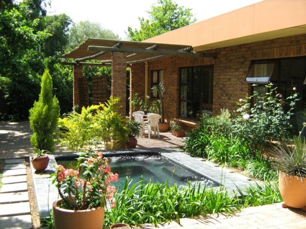 Traumhaus mit garten  96 verblüffende Fotos vom Garten Pool! - Archzine.net