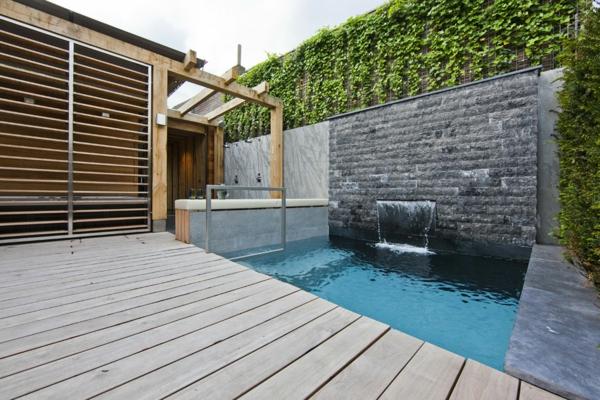 garten-pool-sehr-auffälliges-design - tolle gestaltung