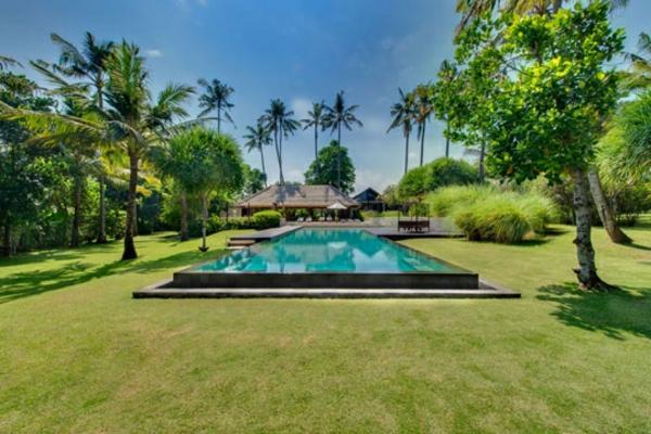 garten-pool-sehr-schönes-grünes-gras
