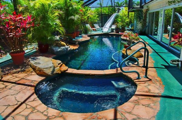 garten-pool-super-luxuriöses-design