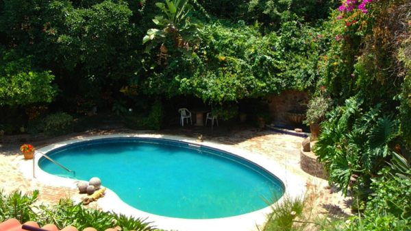 garten-pool-tolles-design - attraktive gestaltung