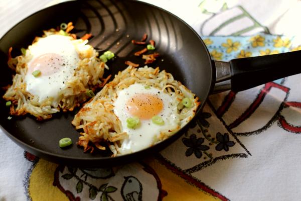 gebratene-eier-Ideen-für-brunch-brunchen-ideen-rezepte-zum-brunchen