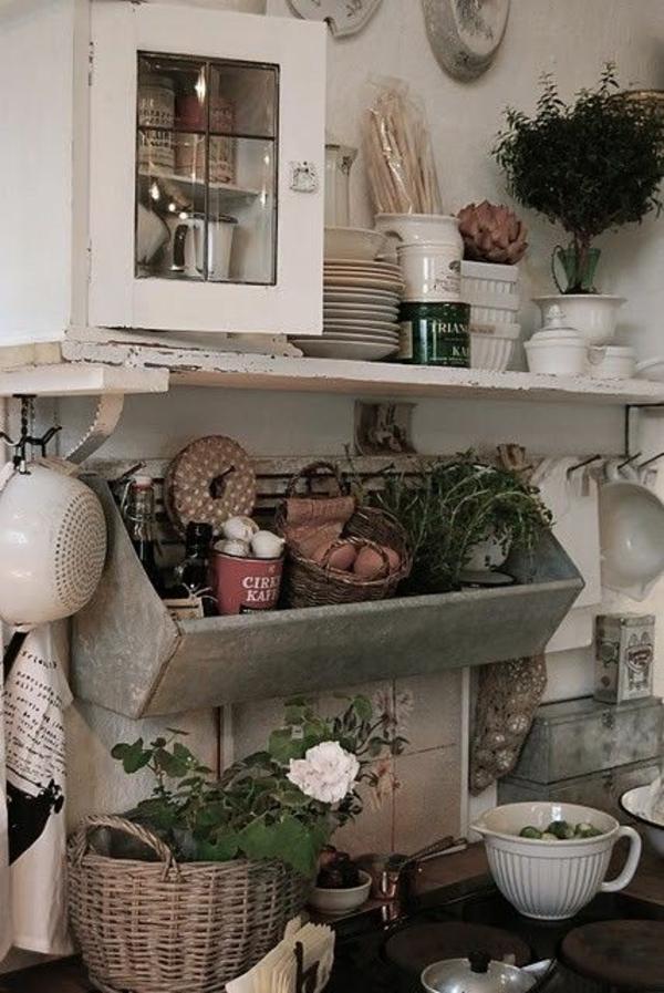 gemütliches-Küchen-Design-Vintage-Pflanzen