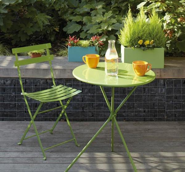 Gartentisch 21 wundersch ne ideen f r den au enbereich for Gartennischen gestalten