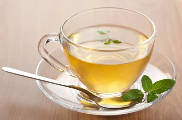 coole tasse tee - elegante dekoration