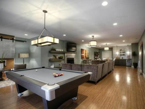 Der billardtisch evolution des designs for Bar im wohnzimmer