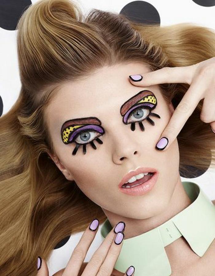 halloween-nägel-und-cooles-hallowenn-schminken
